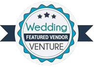 Wedding Venture badge as featured Vendor