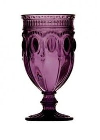 purple goblet