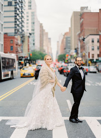 New York Street Wedding Images