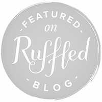 Ruffled-Feature-Badge