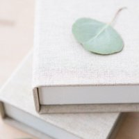 Linen photo proof boxes