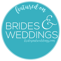 Featured on Brides & Weddings Badge