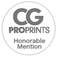 CGPRo Prints Honorable Mention Badge