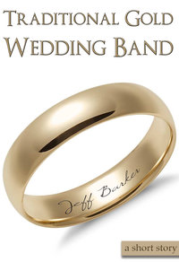 traditional gold wedding band