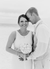 Panama City Beach wedding photographers reviews-photo of bride and groom during first look