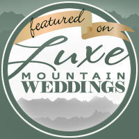 Luxe Mountain Wedding featured wedding photographer