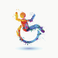 wheelchair bride disabled wedding; LGBT; LGBTQ