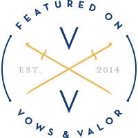 Featured on Vows & Valor