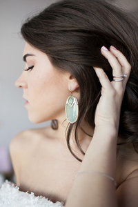 Kendra Scott Chalcedony Earrings