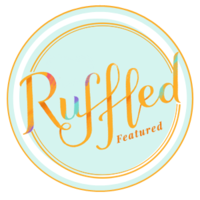 ruffled blog badge IG feautred