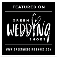 Green weddings shoes blog photo