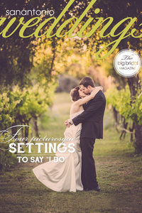 San Antonio Weddings Magazine Cover picture was taken by Expose The Heart Photography