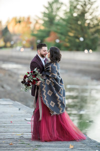 Ottawa Wedding Planner | Partner Weddings & Events  | Fall Inspiration Bridal Portrait