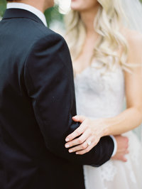 Paradise Valley country club with Ashley Gain elegant desert wedding