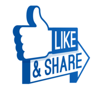 facebook-logo-like-share-png-23