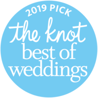 The Knot Best of Weddings 2019 badge