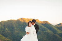 Destination and mountain wedding taken in the hills of Mizoram, India