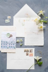 Wedding invitations and other stationery