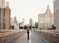 Engagement photos Brooklyn Bridge