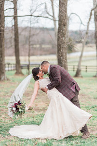 Early Spring Wedding at The Lodge at Mount Ida Farm | Melissa Durham Photography