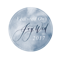 Joy Wed Badge- Featured On 2017