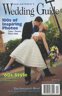 Expose The Heart had a wedding featured in Texas Wedding Guide