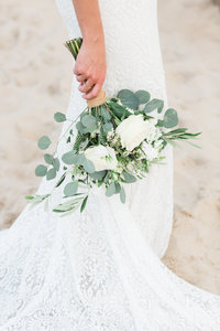 Nags Head Wedding by Virginia and Destination Wedding Photographer Elizabeth Friske Photography-50