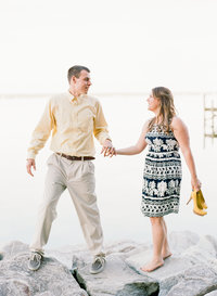 Greenwell State Park Engagement Photo