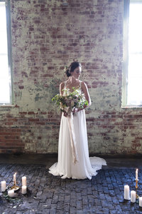 Ottawa Wedding Planner | Partner Weddings & Events | Industrial Ballet Inspired Bride