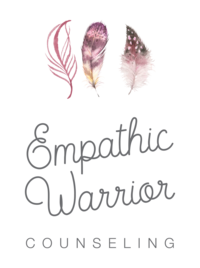 Empathic Warrior_Main Logo Grey