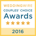 Wedding Wire 2016 Couple's Choice