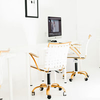 cowork-creative-white-gold-office-chair