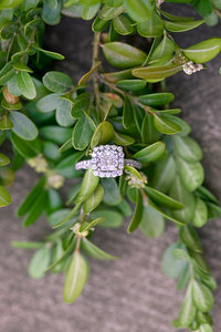 engagement ring wedding ring
