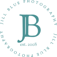 Jill Blue Photography Circle Logo