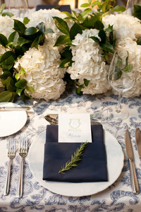 Life in Bloom Best Chicago Wedding Florist Ivy Room Preppy and Classic Wedding16