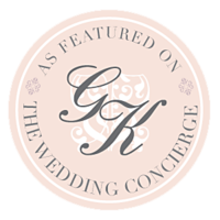 wedding concierge badge