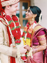 Kavya + Eric Couple Portraits BAPS Mandir Atlanta Wedding 080