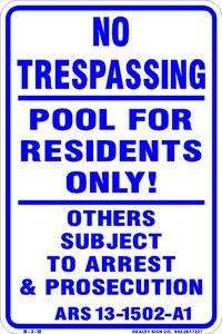 no trespas..pool