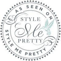 STYLE ME PRETTY BADGE