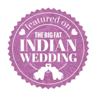 We have been featured  on the big fat indian wedding