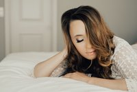 Beautiful intimate and boudoir babe session