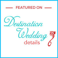Destination Wedding Photographer Jess Collins Photography Published Feature on Destination Wedding Details