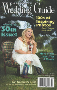 Expose The Heart had a wedding featured in San Antonio Wedding Guide