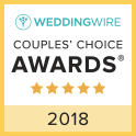 Wedding Wire 2018 Couple's Choice