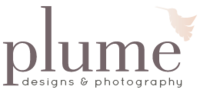 plume designs and photography logo