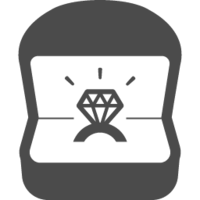 Engagement ring free icon 3