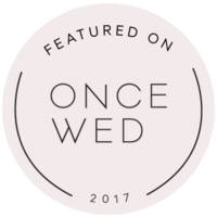 once wed badge copy