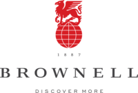 BROWNELL LOGO LOGOTYPE TAG