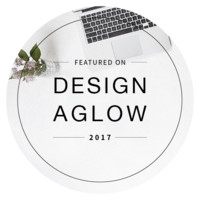 design aglow badge