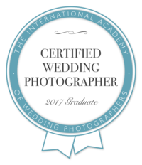 Certified Wedding Photographer Badge